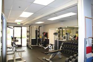 demo before small gym