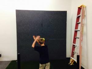 demo bv testing wall