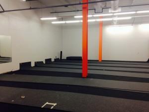 demo floor down