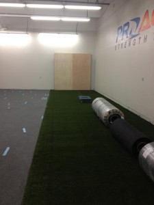 demo flooring turf