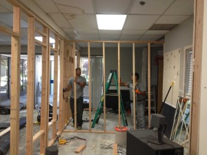 demo framing office 1
