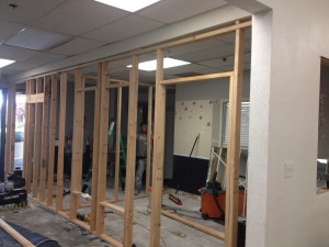 demo framing office 2