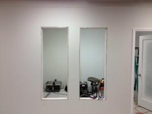 demo office small windows
