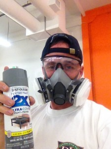 demo paint spray