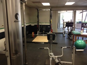 demo small gym before 3