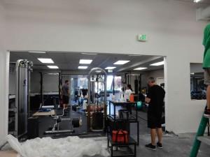 demo working small gym